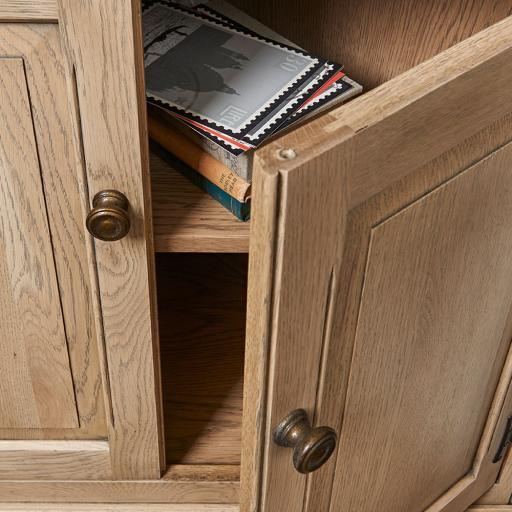 OC2996 Open Corner Cabinet - Old Charm Furniture - Wood Bros