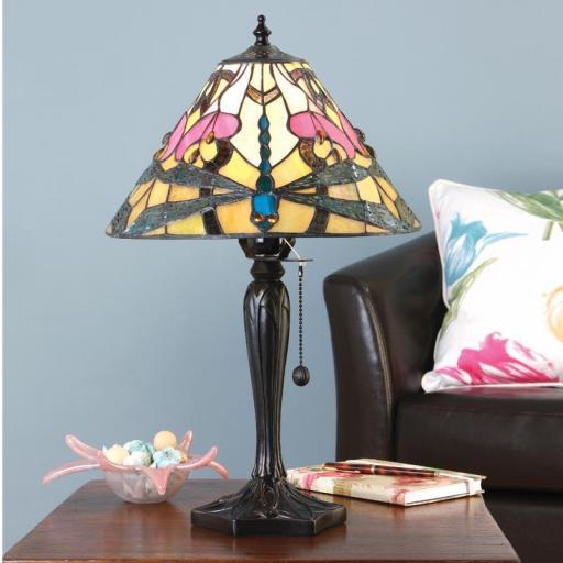 Ashton Small Table Lamp - Interiors 1900 Tiffany Lighting