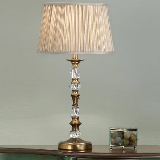 Polina Brass Small Table Lamp - New Classics Interiors 1900 Lighting