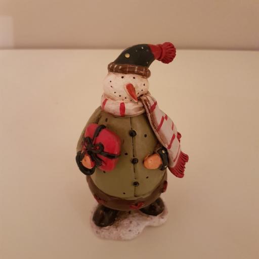 Xmas Figurine Snowman Small 54552 - Enchante