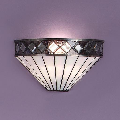 Fargo Wall Light White - Interiors 1900 Tiffany Lighting