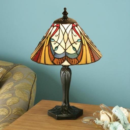 Hector Small Table Lamp - Interiors 1900 Tiffany Light