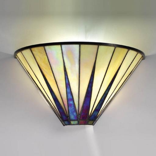 Dark Star Wall Light - Interiors 1900 Tiffany Light