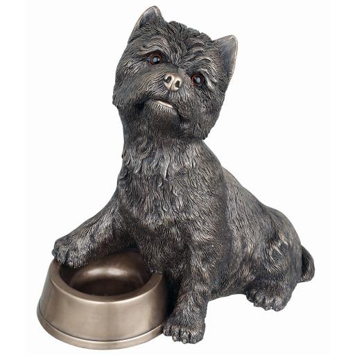 Westie with Bowl PP018 - Genesis