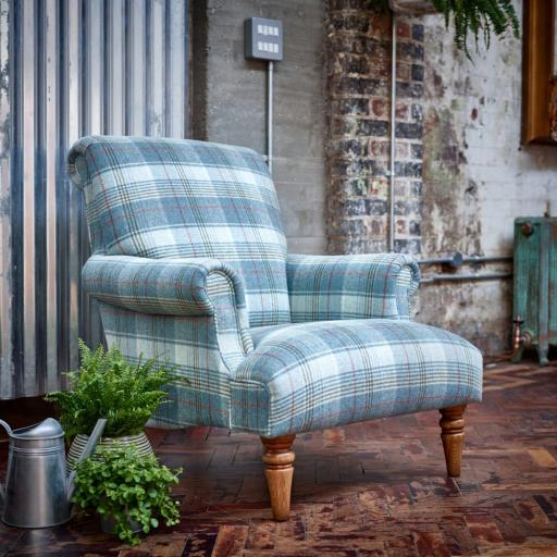 Arncliffe Armchair ACF140 - Moon Fabrics - Wood Bros
