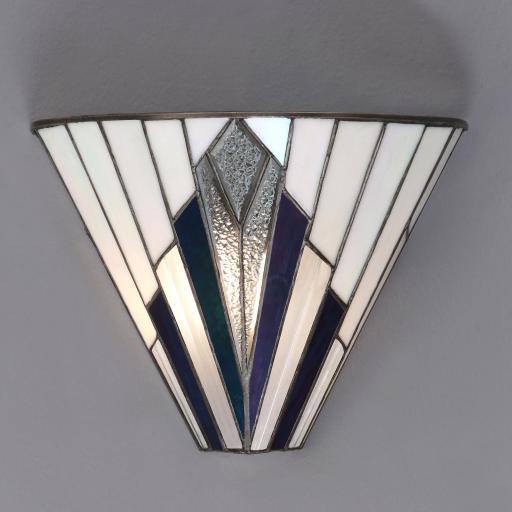 Astoria Wall Light - Interiors 1900 Tiffany Lighting