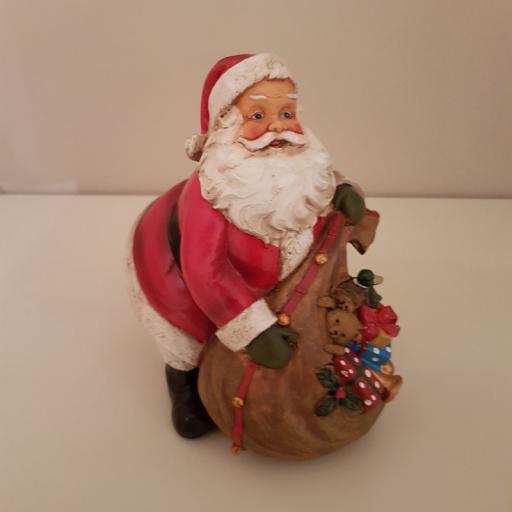 Santa with Toy Sack 54705 - Enchante