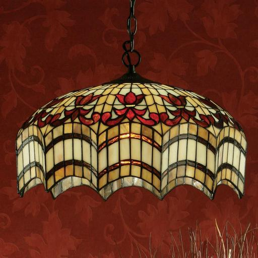 Vesta Large Pendent - Interiors 1900 Tiffany Lighting