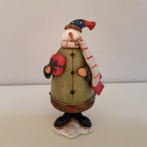 Xmas Figurine Snowman Large 54551 - Enchante