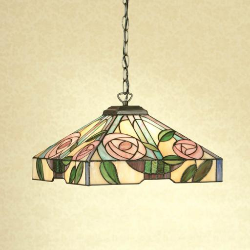 Willow Medium Pendant - Interiors 1900 Tiffany Light