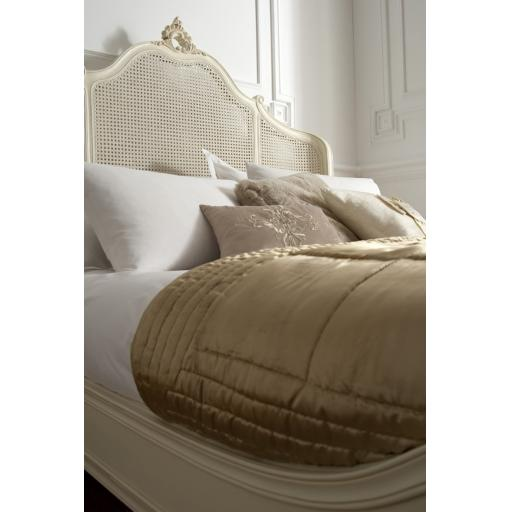 Rococo Soft White Bed Cane Panels - Winsor Furniture