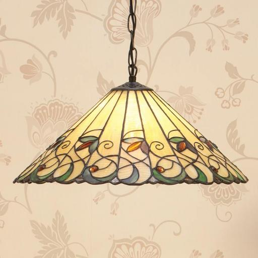 Jamelia Large Pendant - Interiors 1900 Tiffany Lighting