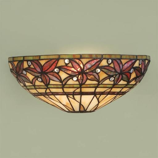 Ashtead Wall Light - Interiors 1900 Tiffany Light