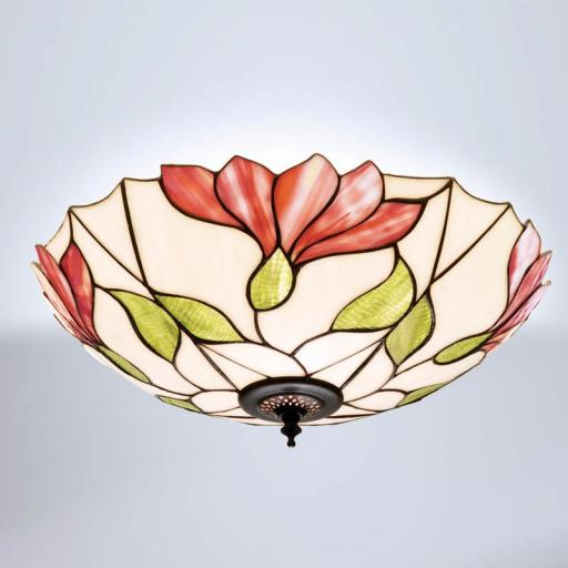 Botanica Flush Ceiling Light - Interiors 1900 Tiffany