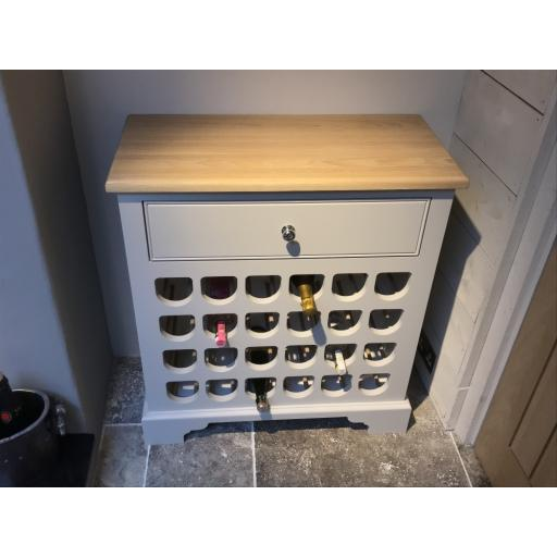 Neptune Chichester 2ft6 Wine Rack - Neptune Furniture Clearance