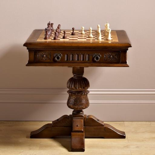 OC2446 Games Table - Old Charm Furniture - Wood bros