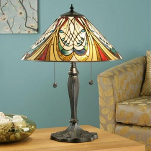 Hector Table Lamp - Interiors 1900 Tiffany Light