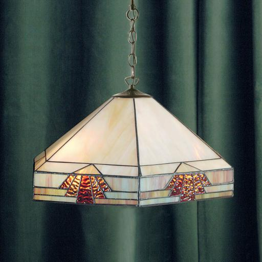 Nevada Pendant - Interiors 1900 Tiffany Lighting