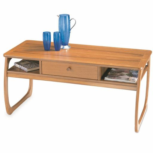 Nathan Furniture 5434 Burlington Coffee Table - Classic & Shades Teak Range
