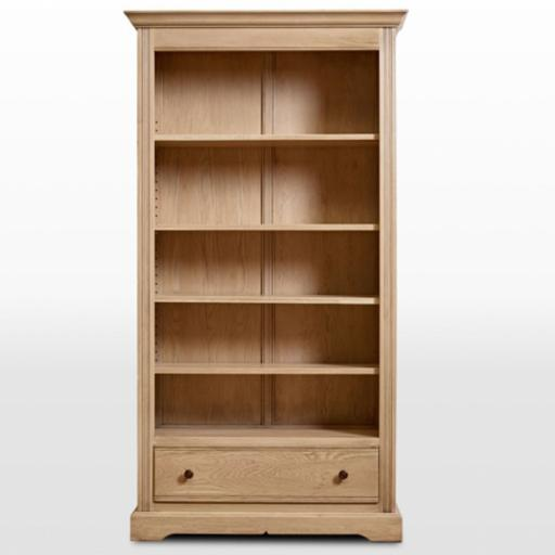 2995 Bookcase with Drawer - Old Charm Furniture - Wood Bros