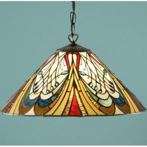 Hector Pendant - Interiors 1900 Tiffany Light