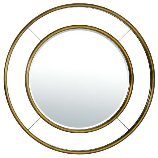 Grace Round Mirror PAN019 - Mindy Brownes Interiors