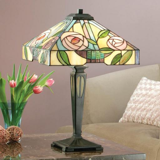 Willow Table Lamp - Interiors 1900 Tiffany Light