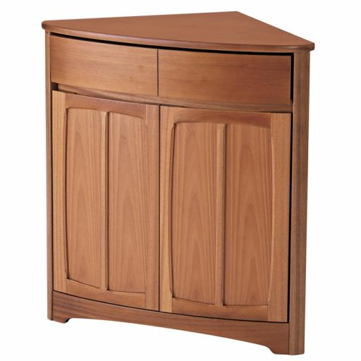 Nathan Furniture 1914 Shaped Corner Base Unit - Nathan Shades Furniture