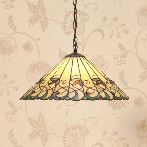 Jamelia Medium Pendant - Interiors 1900 Tiffany Lighting