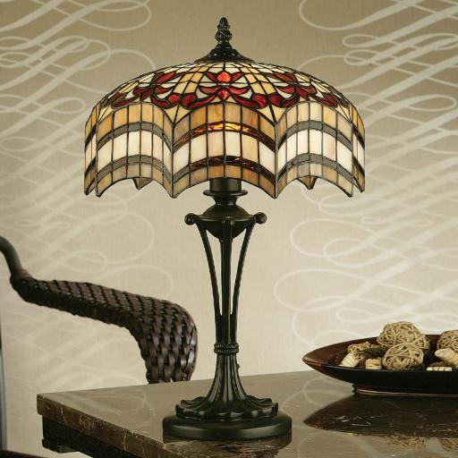 Vesta Medium Table Lamp - Interiors 1900 Tiffany Lighting