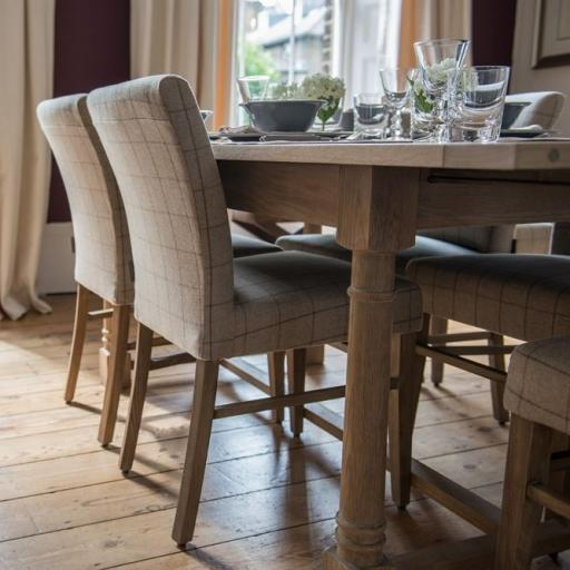 Miller Dining Chair in Ewan Stone - Neptune Furniture