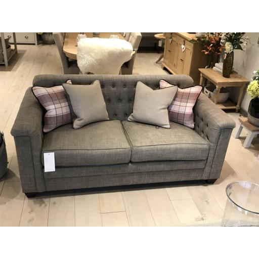 Neptune Lottie Medium Sofa in Harry Mortar - Neptune Furniture Clearance