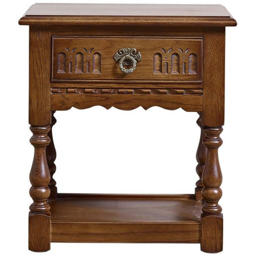 OC2325 Lamp Table - Old Charm Furniture - Wood Bros