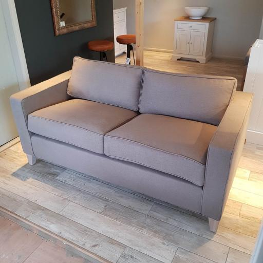 Neptune Shoreditch Sofa Small in Spelt with Pale Oak Legs - Neptune Furniture Clearance