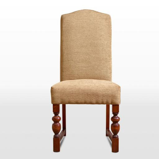 2802 Upholstered Dining Chair - Old Charm Furniture - Wood Bros