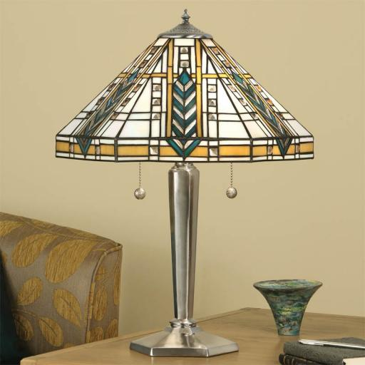 Lloyd Medium Table Lamp - Interiors 1900 Tiffany Light