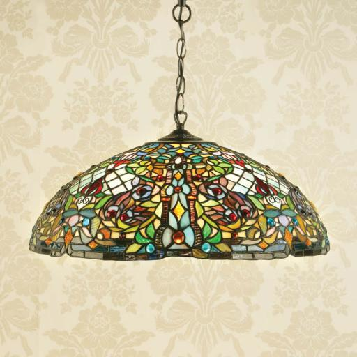 Anderson Large Pendant - Interiors 1900 Tiffany Lighting