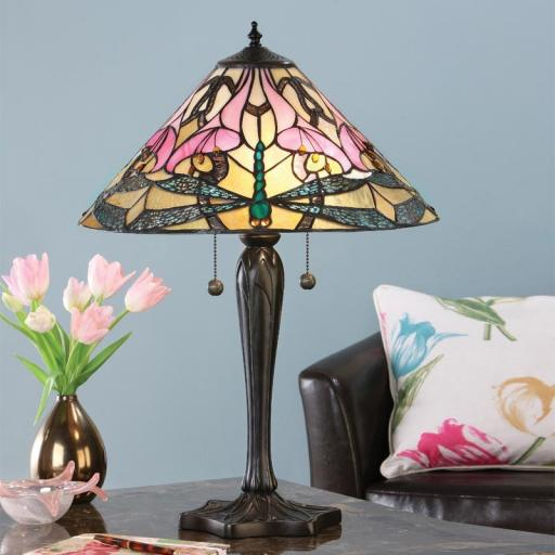 Ashton Table Lamp - Interiors 1900 Tiffany Lighting