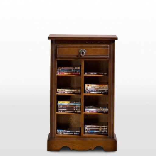 OC2799 DVD/CD Storage Cabinet - Old Charm Furniture - Wood Bros