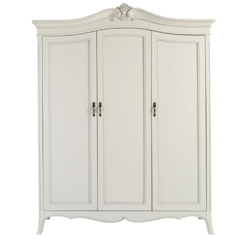 Classic Isabel 3 Door Wardrobe - Winsor Furniture WB7WP