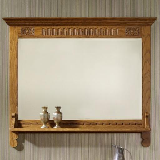 OC2372 Wall Mirror - Old Charm Furniture - Wood Bros