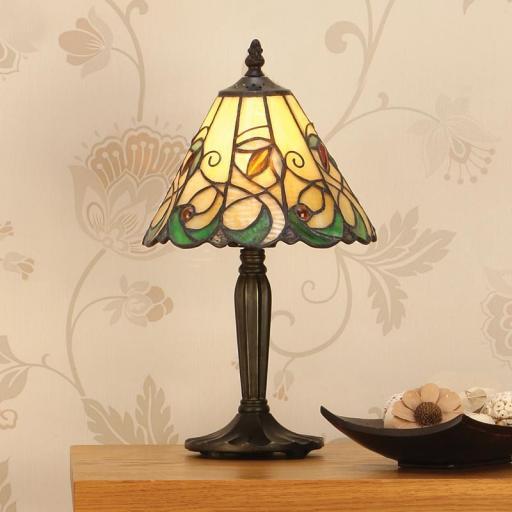 Jamelia Small Table Lamp - Interiors 1900 Tiffany Lighting