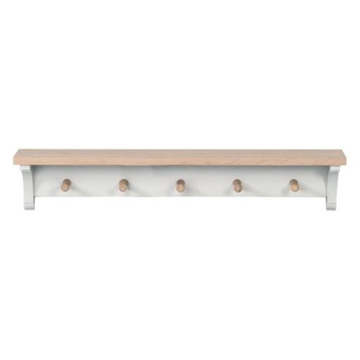 Suffolk 3ft Coat Rack / Shelf - Neptune Furniture