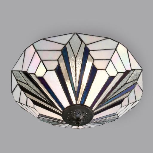 Astoria Flush Ceiling Light - Interiors 1900 Tiffany Lighting