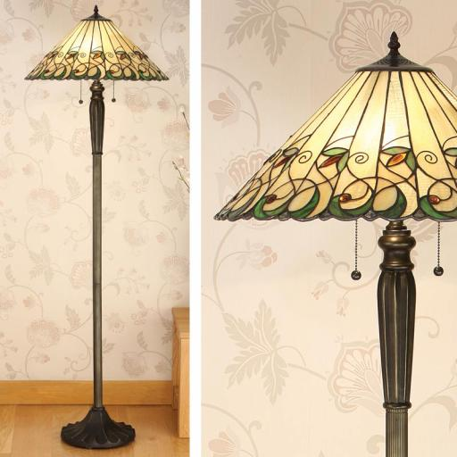Jamelia Floor Lamp - Interiors 1900 Tiffany Lighting