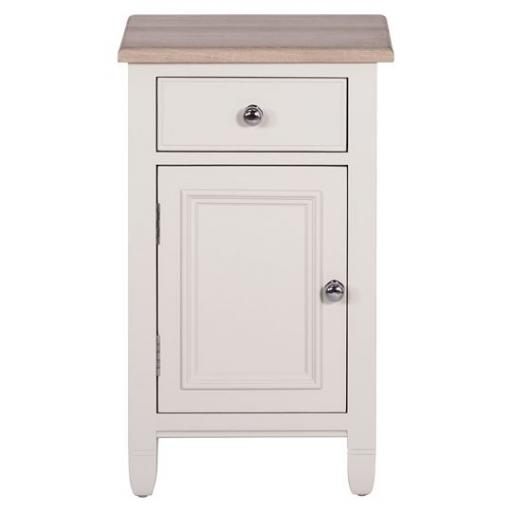 Chichester Bedside Cabinet, Left - Neptune Bedroom Furniture