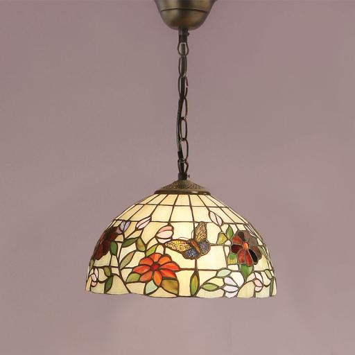 Butterfly Small Pendant - Interiors 1900 Tiffany Light