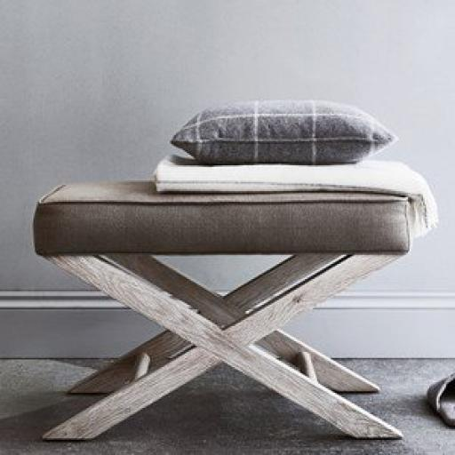 Alex Footstool - Neptune Furniture