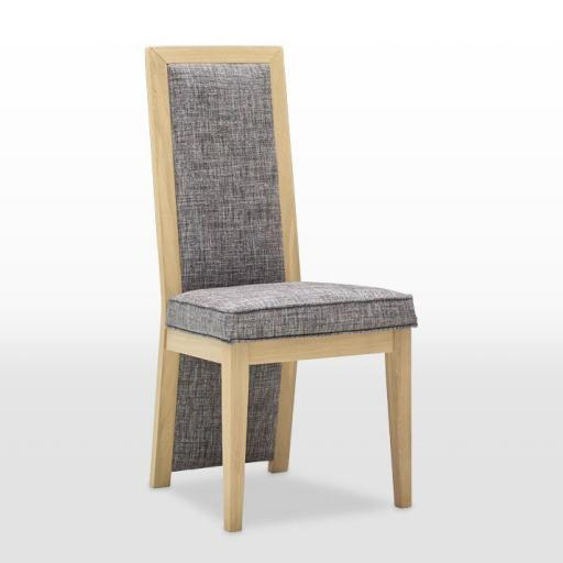 Upholstered Dining Chair SK5502 - Oskar Collection - Wood Bros Furniture