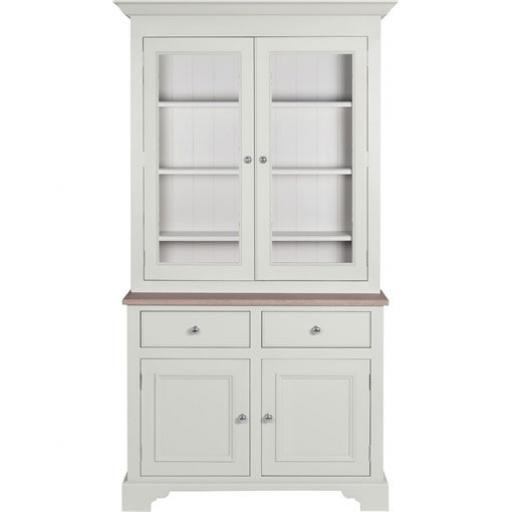 Chichester 3ft6 Glazed Rack Dresser - Neptune Furniture